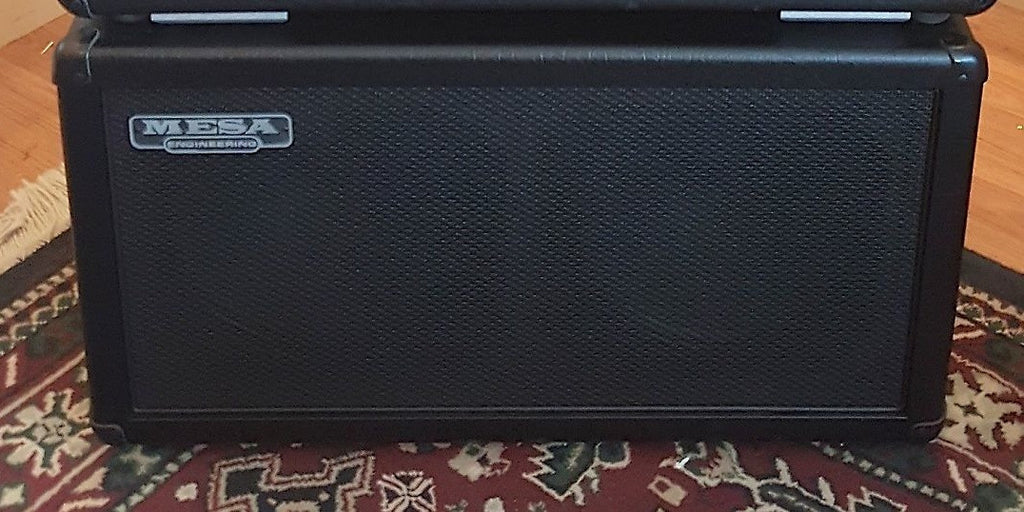 Mesa Boogie 2 x 12 Extension Cabinet Black
