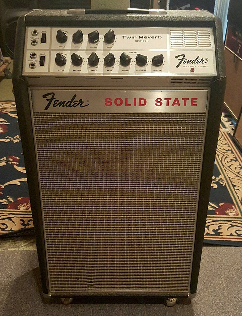 Late 60s Fender Solid State Twin Reverb