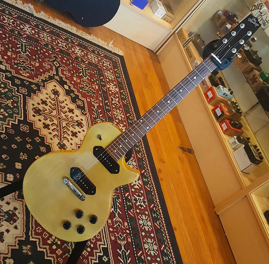 Heritage H-137 TV Yellow