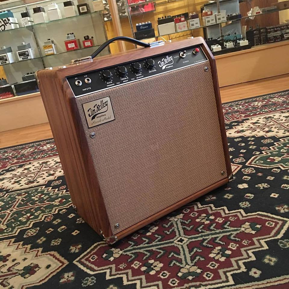 Suhr/Jim Kelley Limited Edition Parota Reverb Combo Amplifier