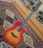 Taylor 614ce Cherry Burst