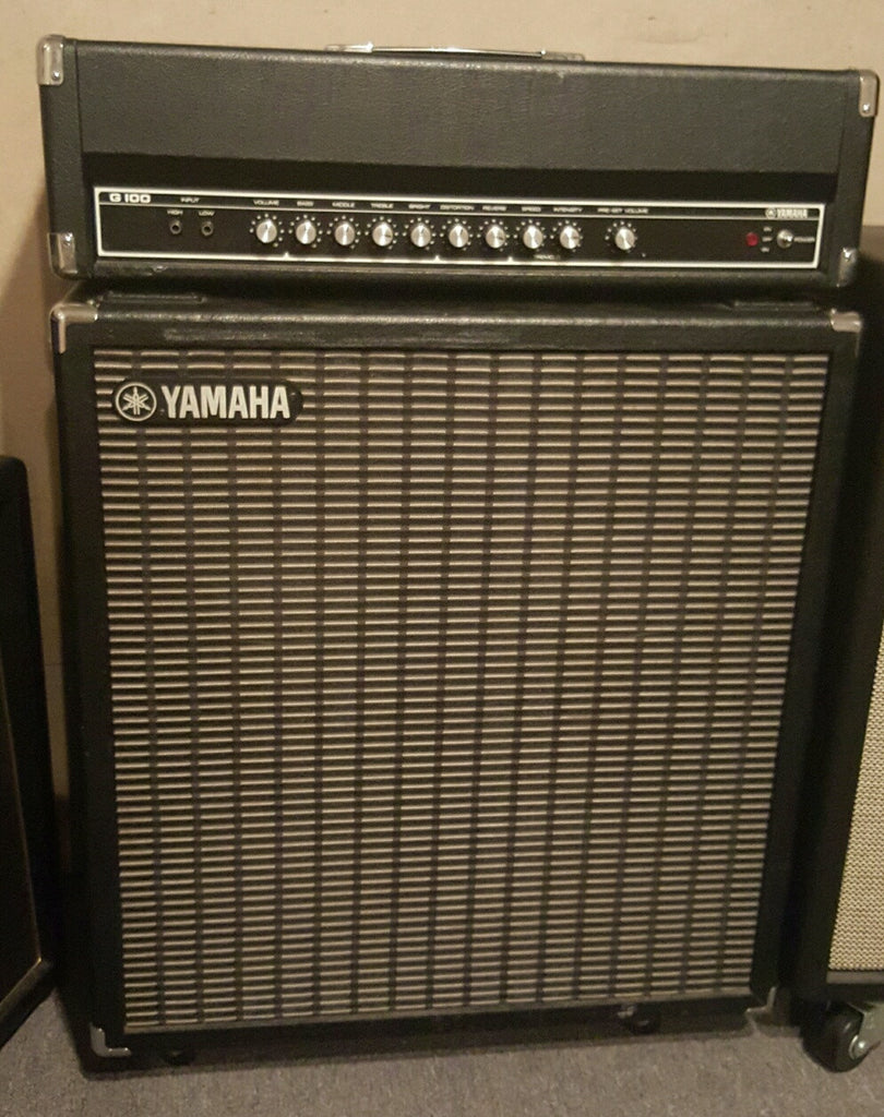 Yamaha G100 Head and 4x12 Cabinet