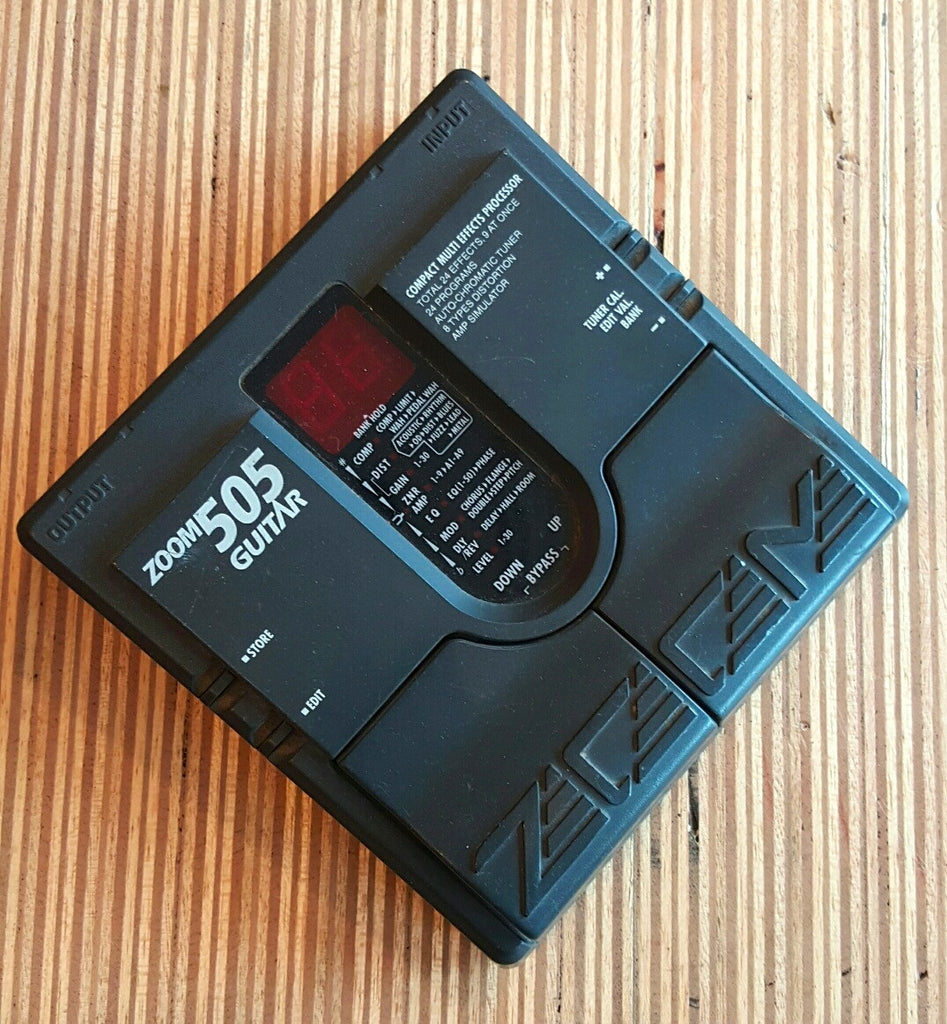 Zoom 505 Guitar Multieffect Pedal