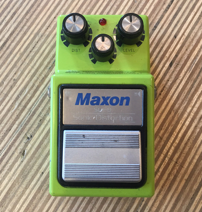 Analog Man modded Maxon SD-9 Sonic Distortion