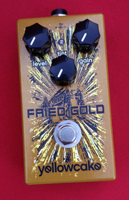 Yellow Cake Fried Gold Overdrive