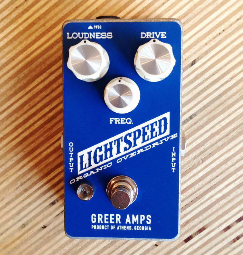 Nick Greer Lightspeed Organic Overdrive