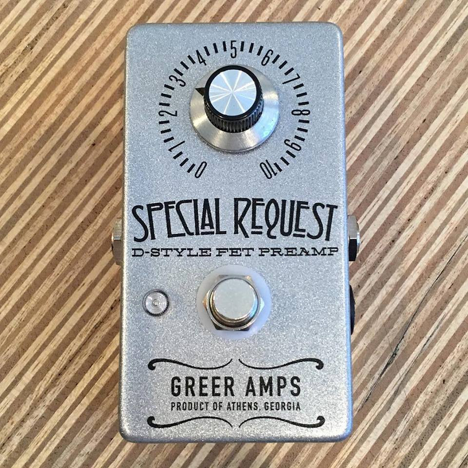 Nick Greer Special Request D-Style FET Preamp