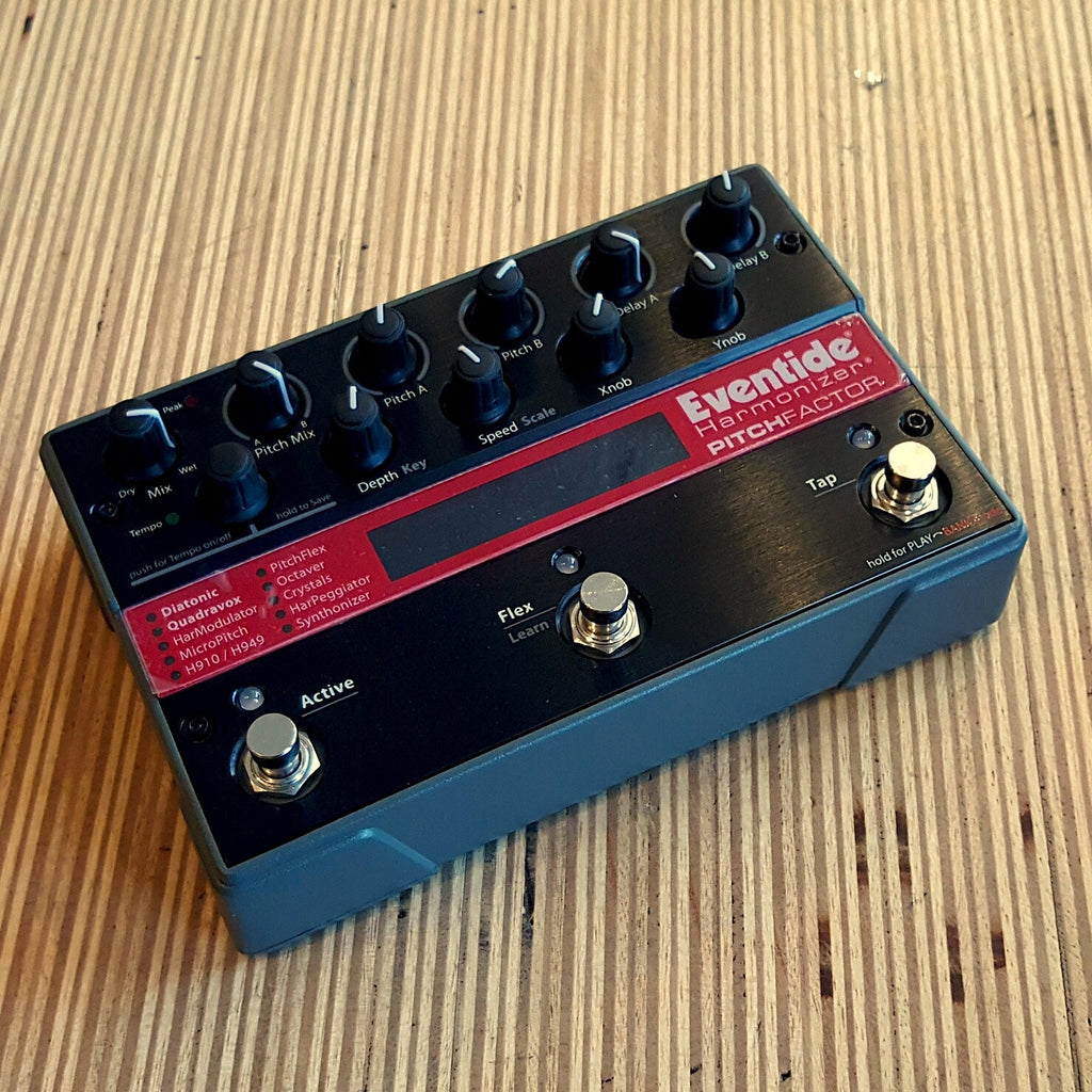 Floor Model Eventide Pitch Factor Harmonizer