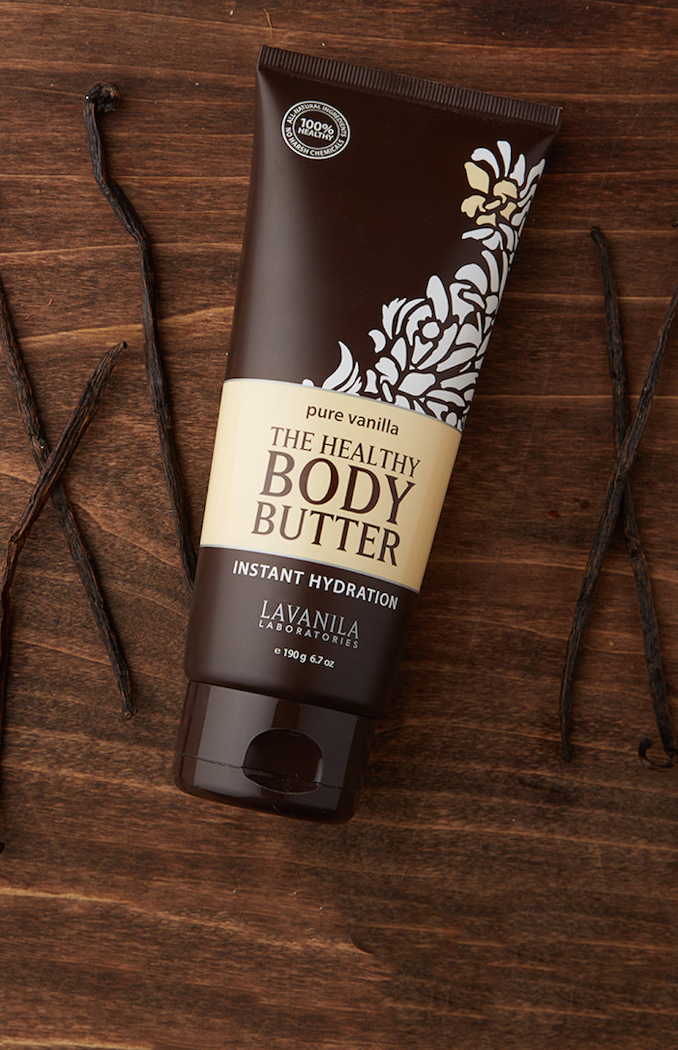 The Healthy Body Butter Pure Vanilla