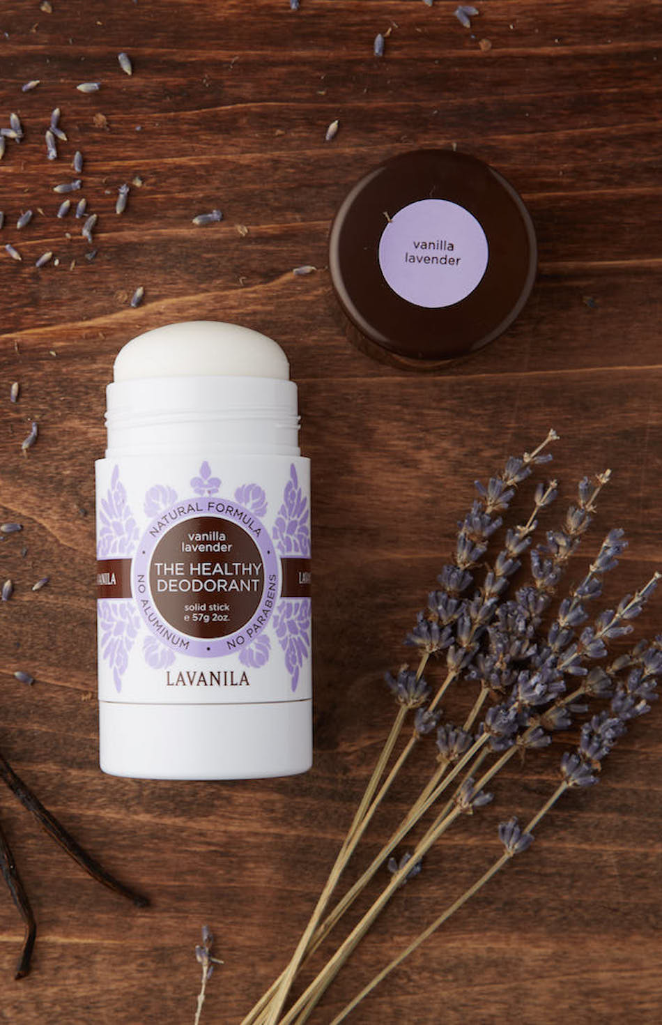 The Healthy Deodorant Vanilla Lavender