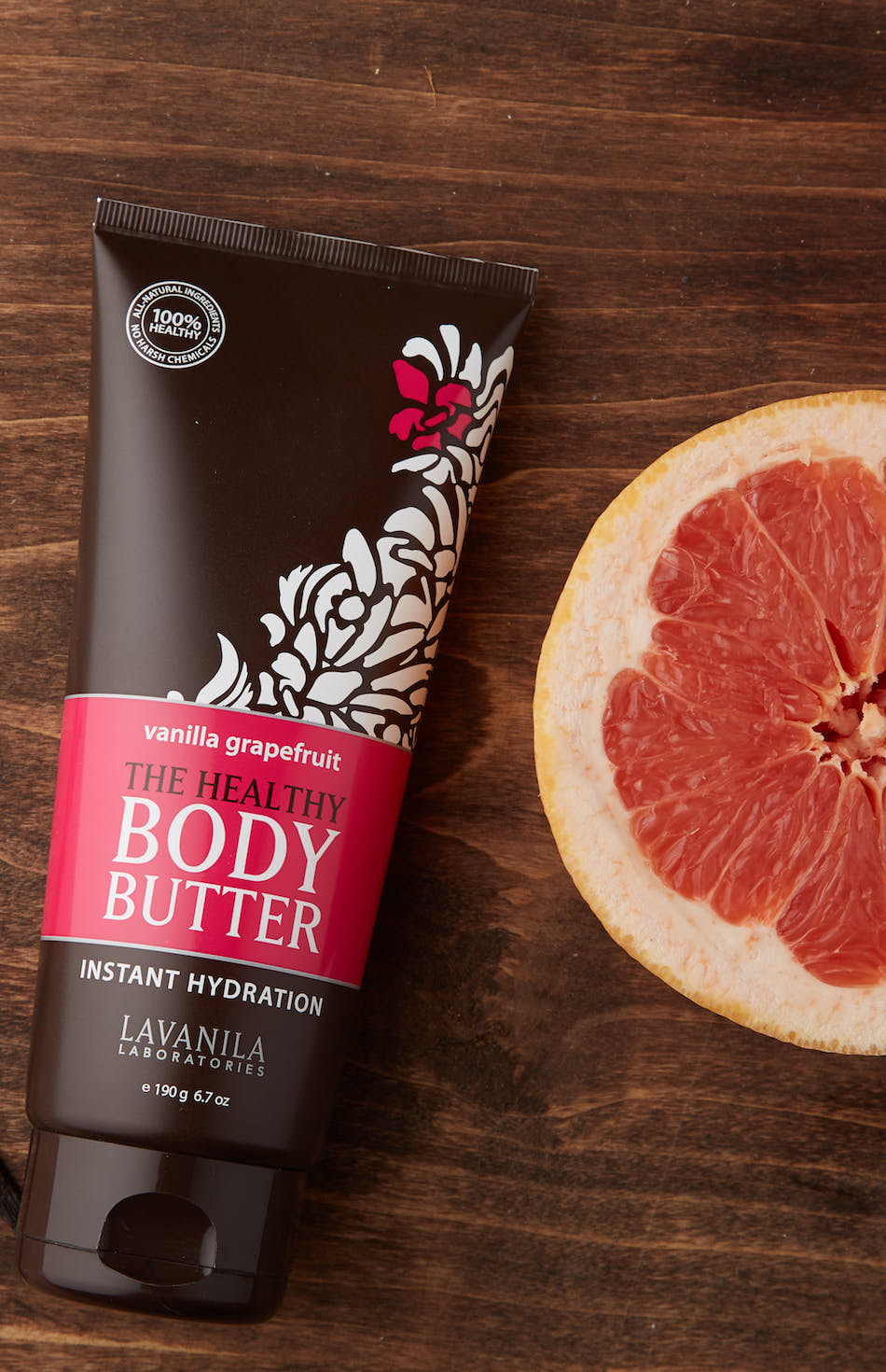 The Healthy Body Butter Vanilla Grapefruit