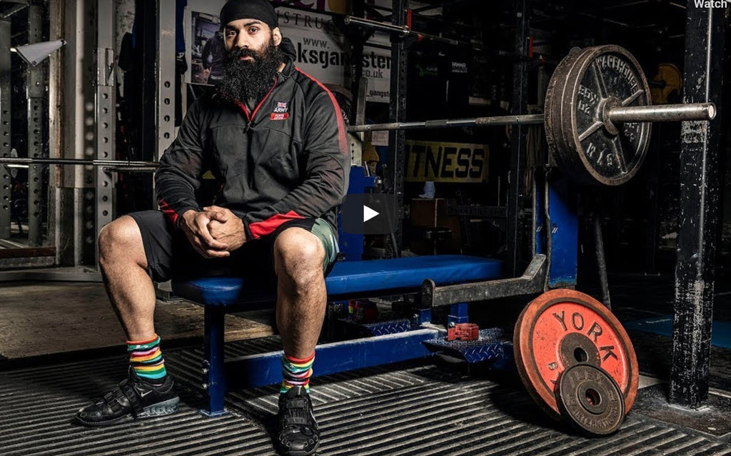 From injured British Army soldier to champion powerlifter: Indy Dhillon
