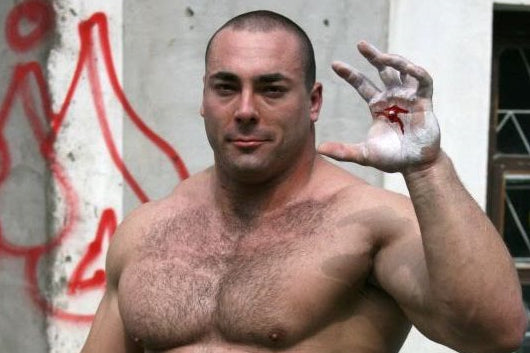 Powerlifting legend Konstantin Konstantinovs has died aged 40