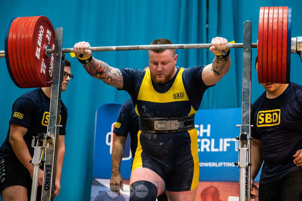 British Powerlifting Men's Championships 2018 Results