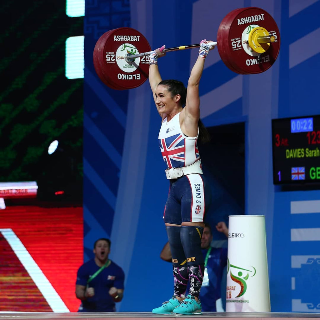 GB squad set 7 records at World Weightlifting Championships