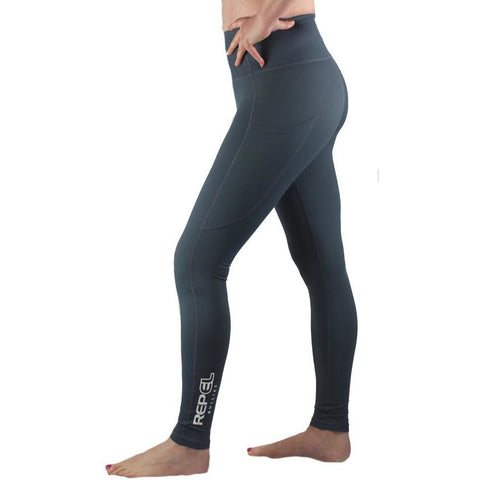 Women's Repel Leggings - Dark Grey