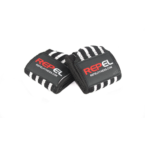 Repel Wrist Wraps - Black & White