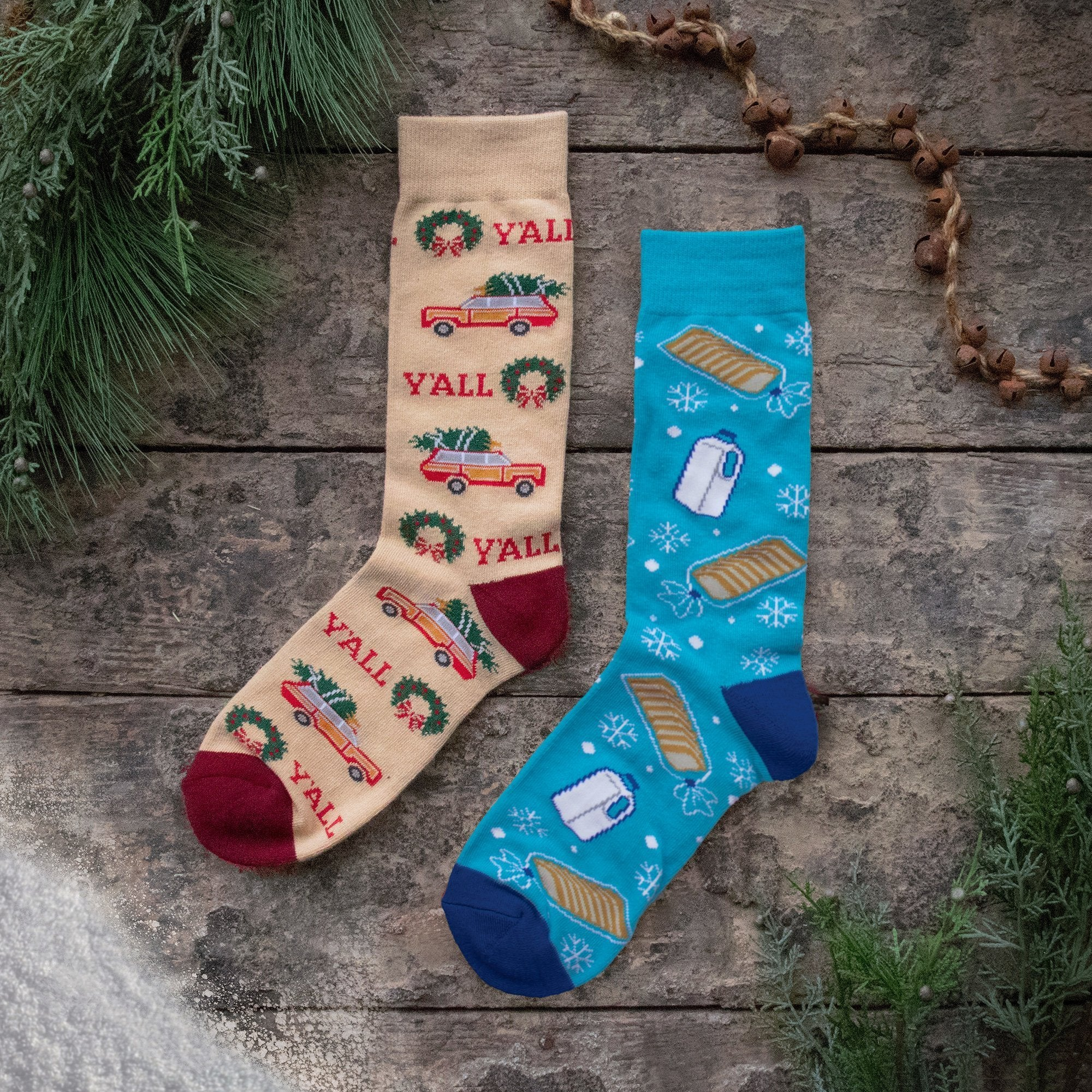 New Y'ALLiday Socks for the Holidays!