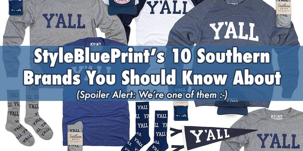 Southern Socks Featured on StyleBluePrint!