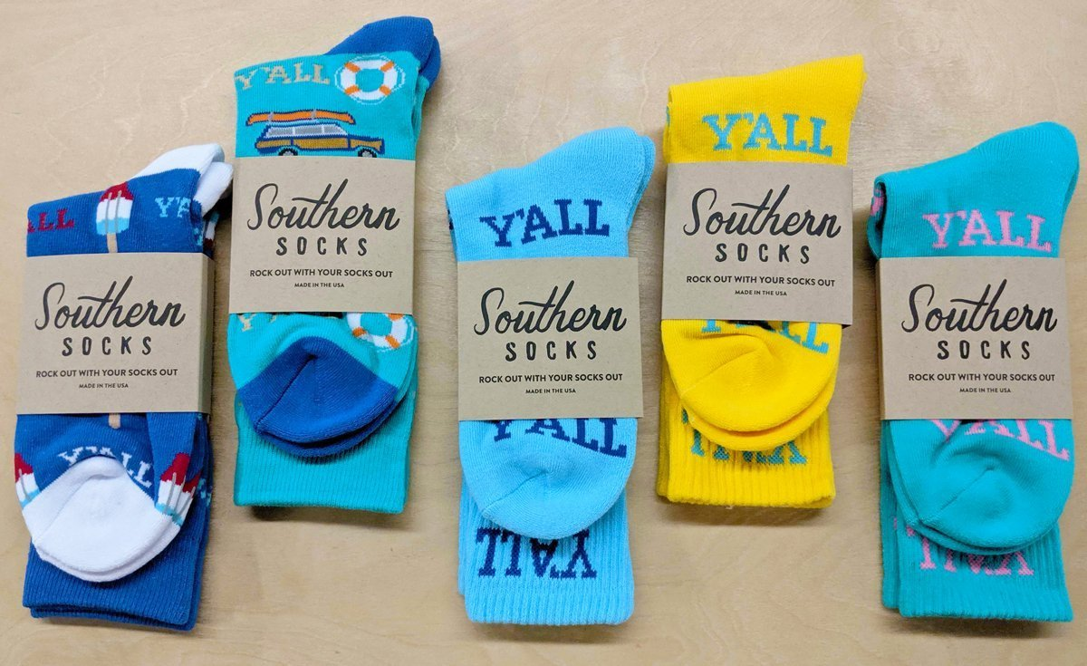 Summer of Y'all Socks