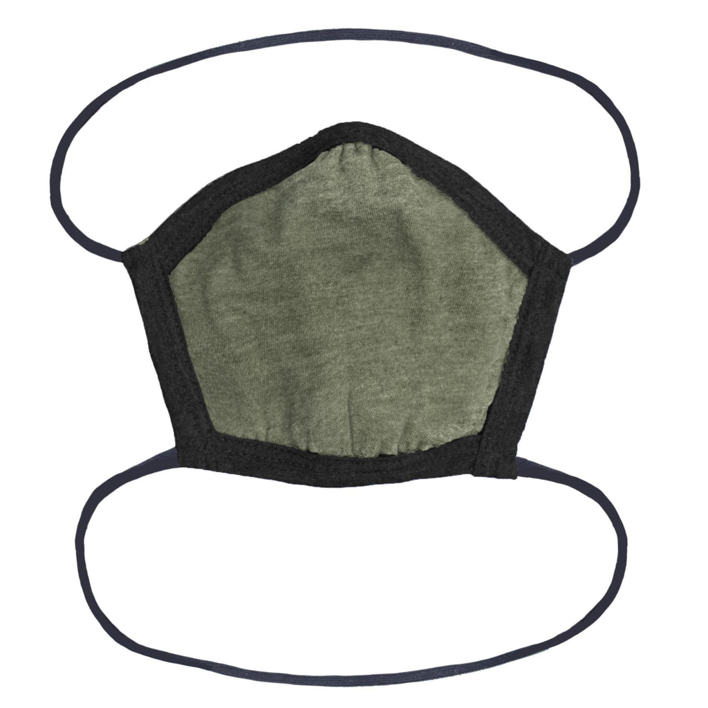 Face Mask (OSFA) Olive Green-Mask-Southern Socks