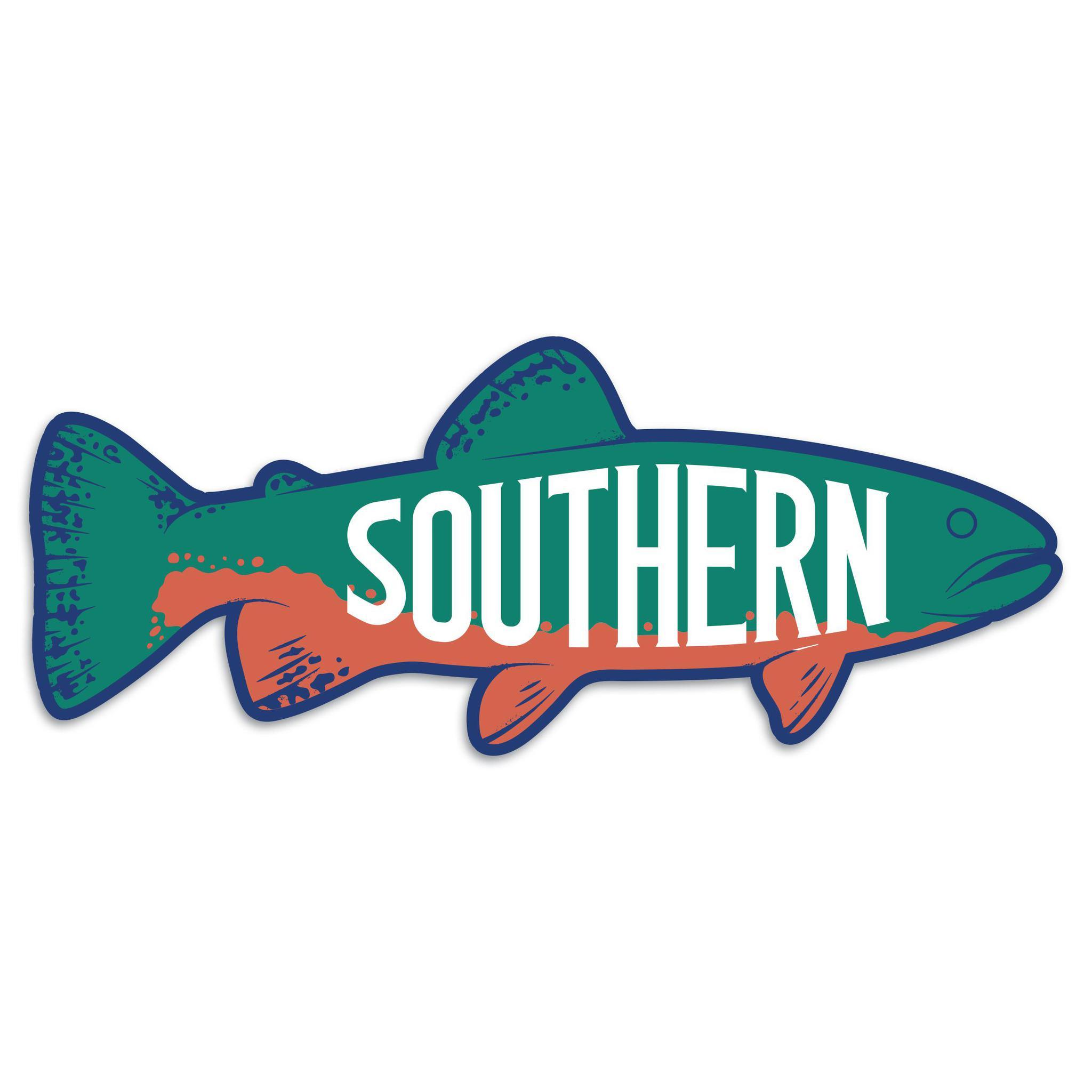 Southern Brook Sticker-Southern Socks