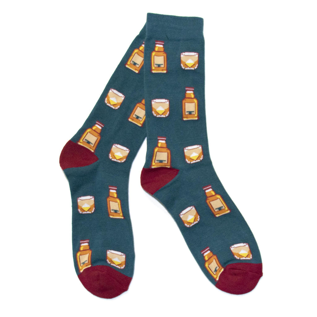 Bourbon On The Rocks Socks-socks-Southern Socks