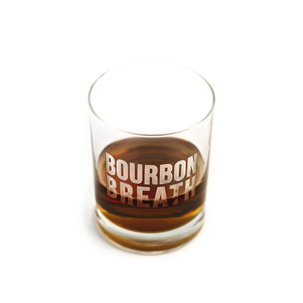 Bourbon Breath Bourbon Glass-Southern Socks