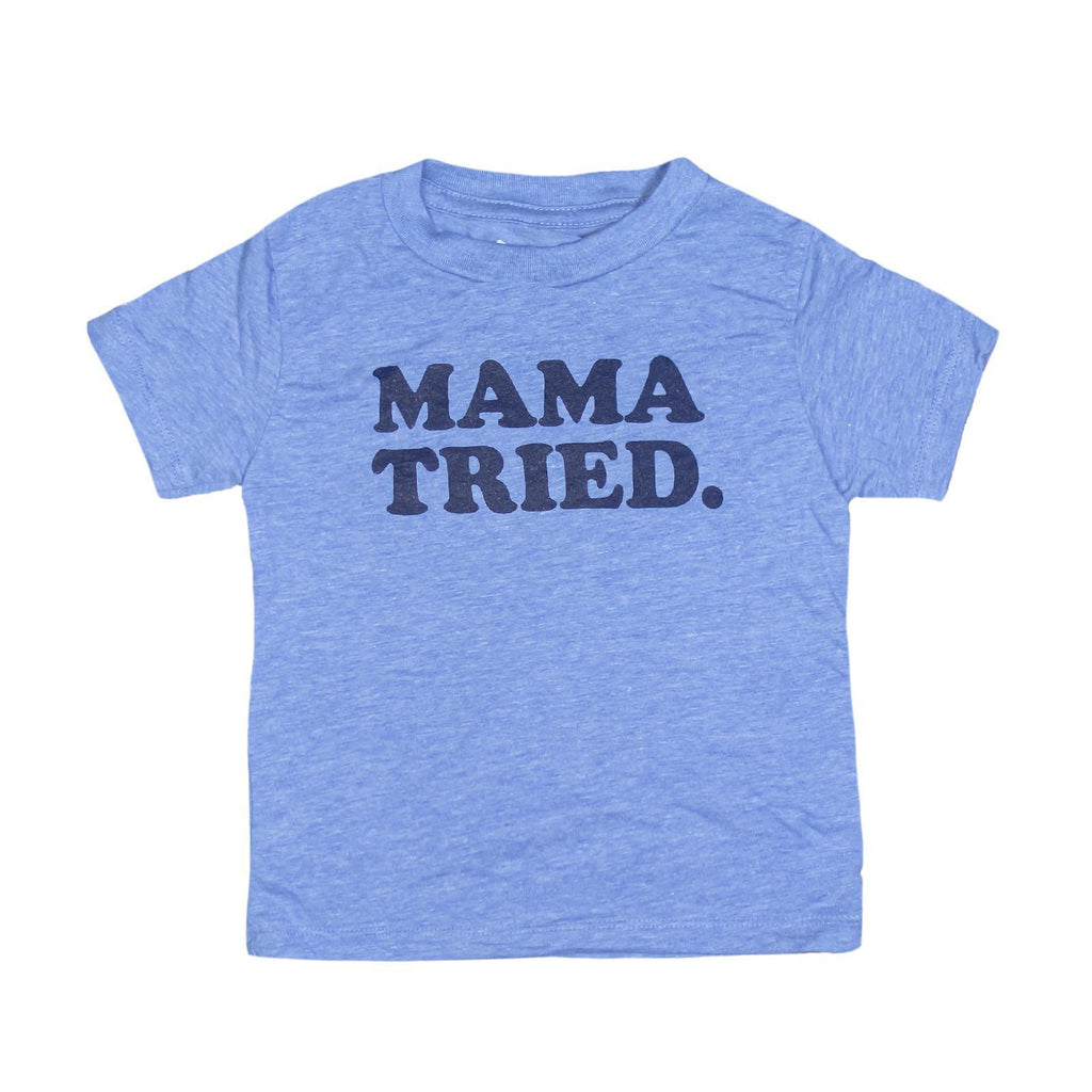 MAMA TRIED. Kids T-Shirt-T-Shirt-Southern Socks