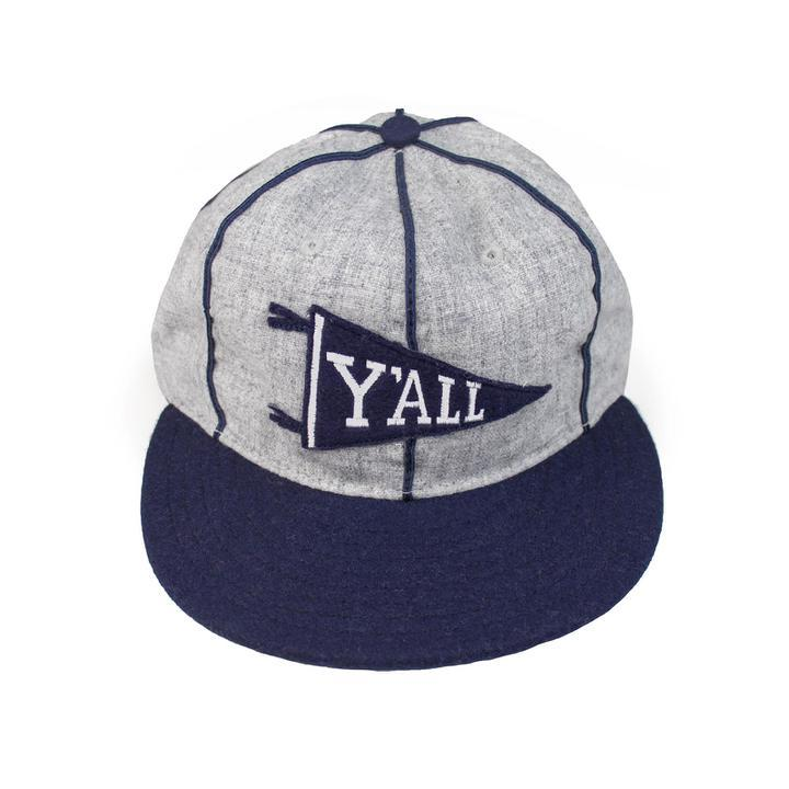 Y'ALL Pennant Ebbets Hat-Hat-Southern Socks