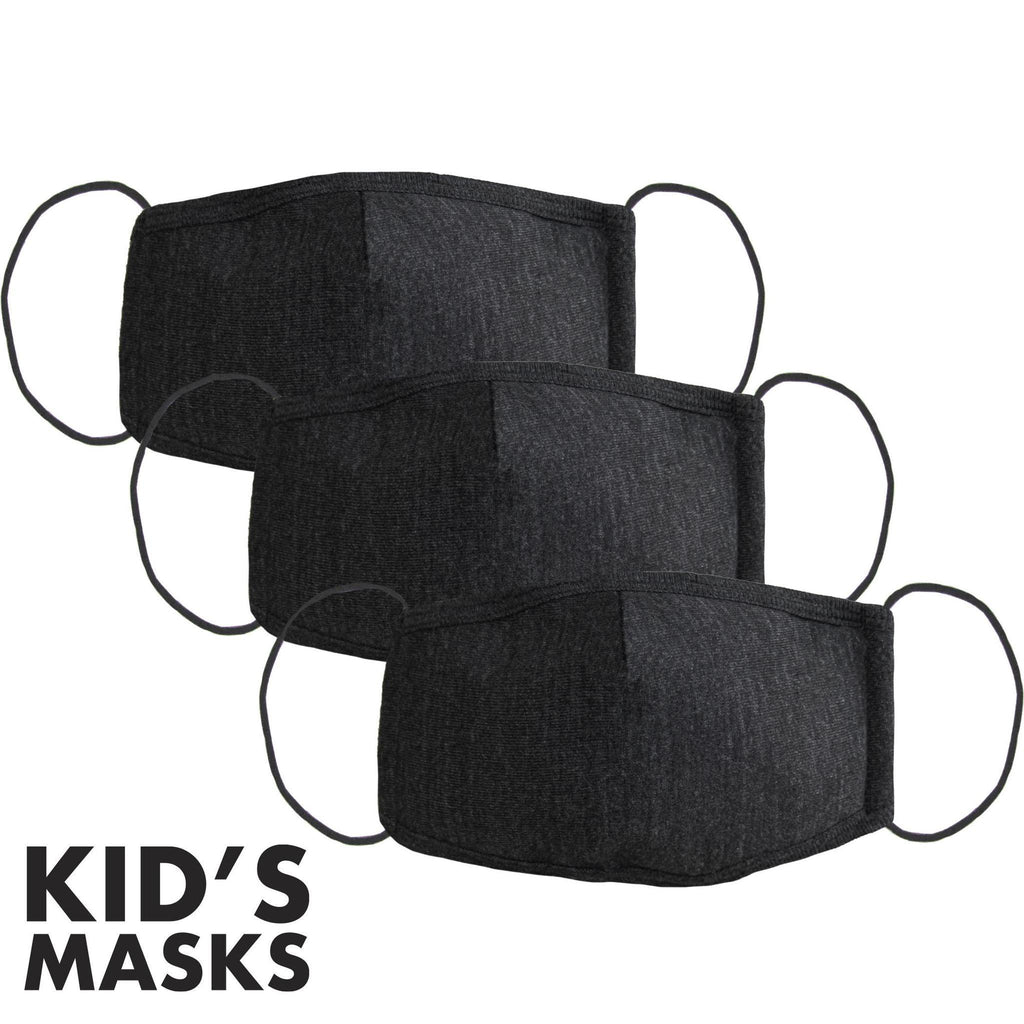 3-Pack Face Mask (Kids)-Mask-Southern Socks