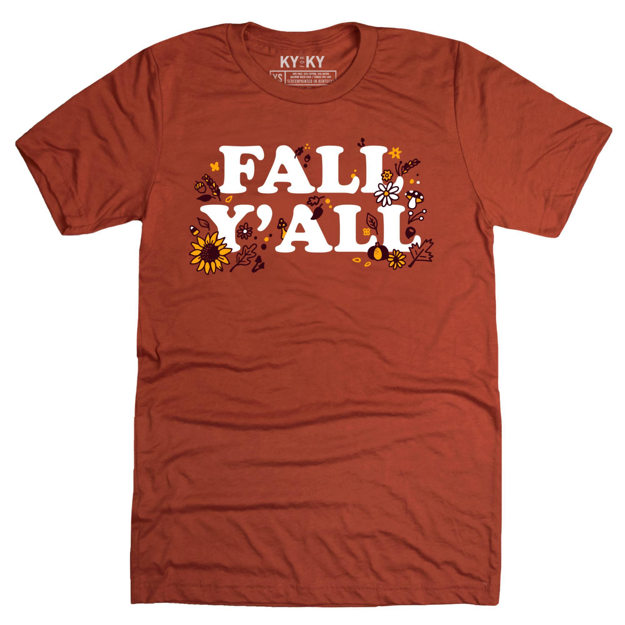 Fall Y'all T-Shirt-Southern Socks