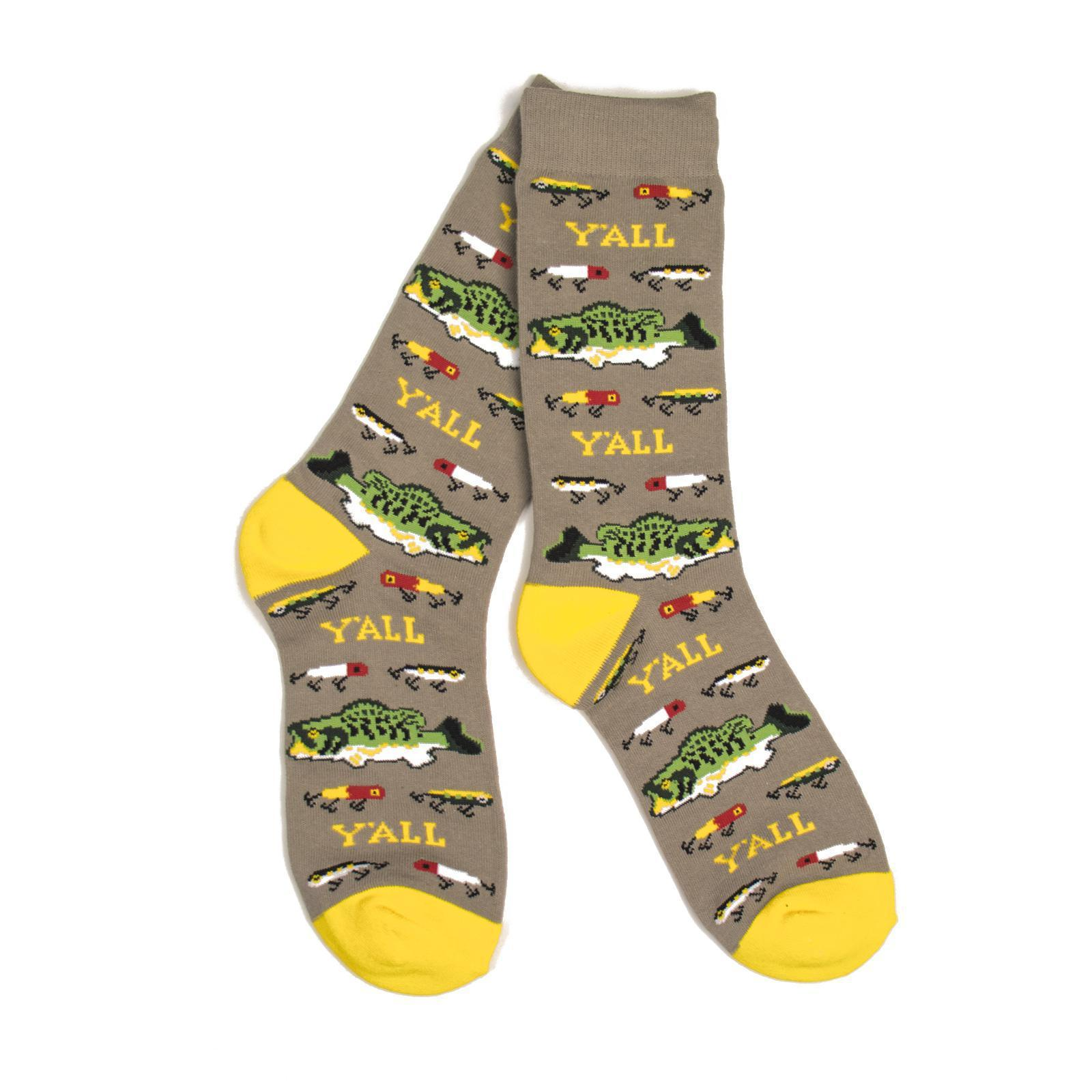 Bass Fishing Socks-socks-Southern Socks