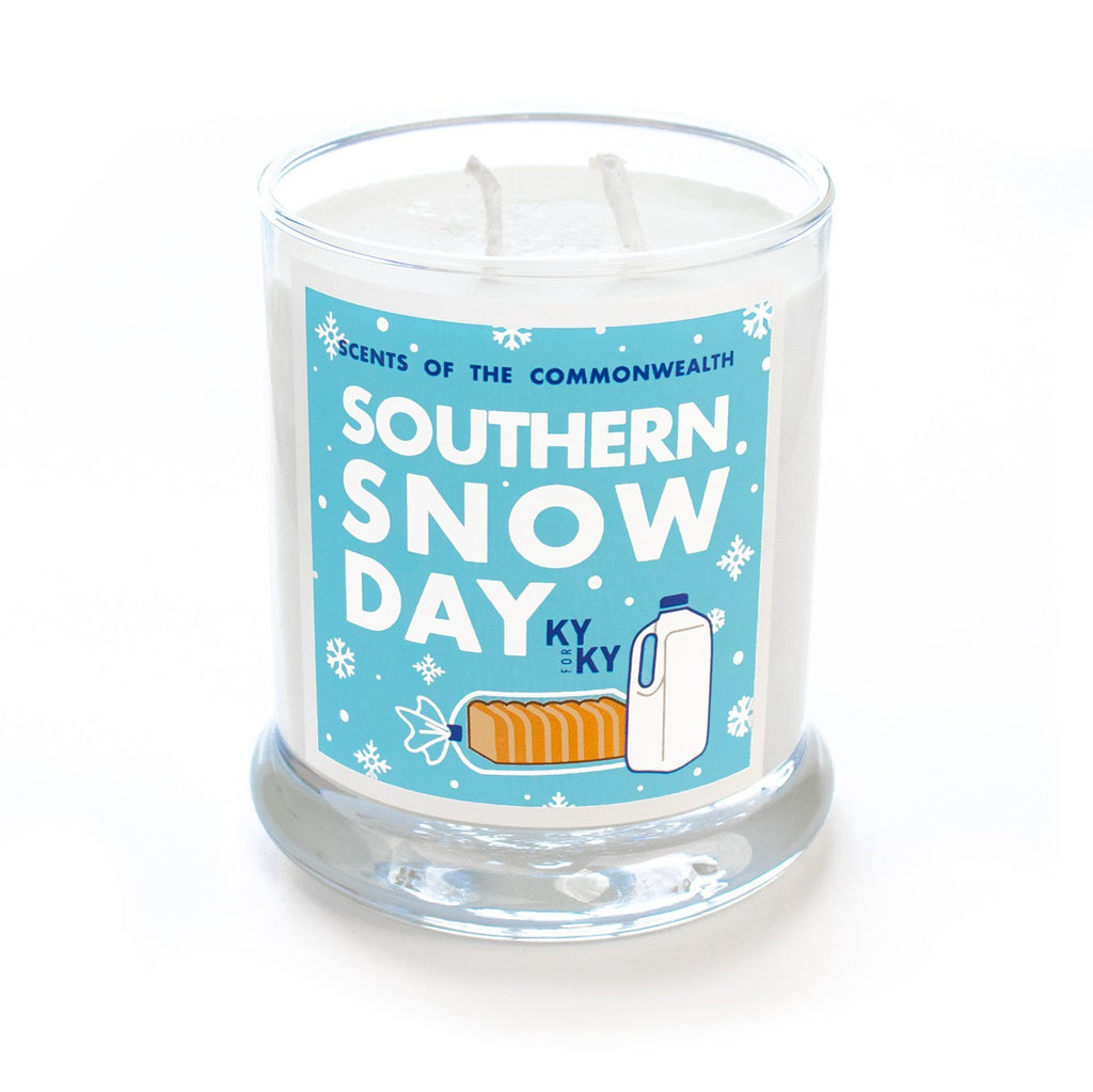 Southern Snow Day Scented Candle-Southern Socks