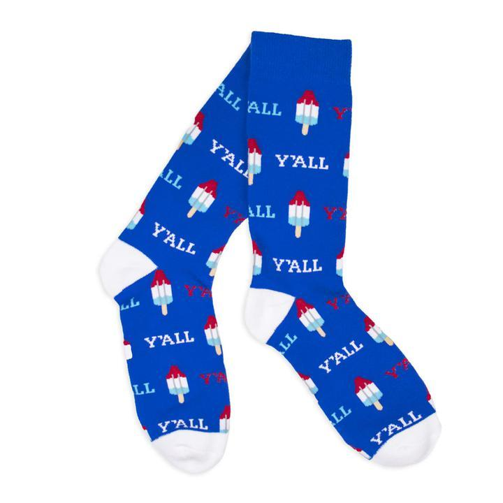 Bomb Pops Y'all Socks-Socks-Southern Socks
