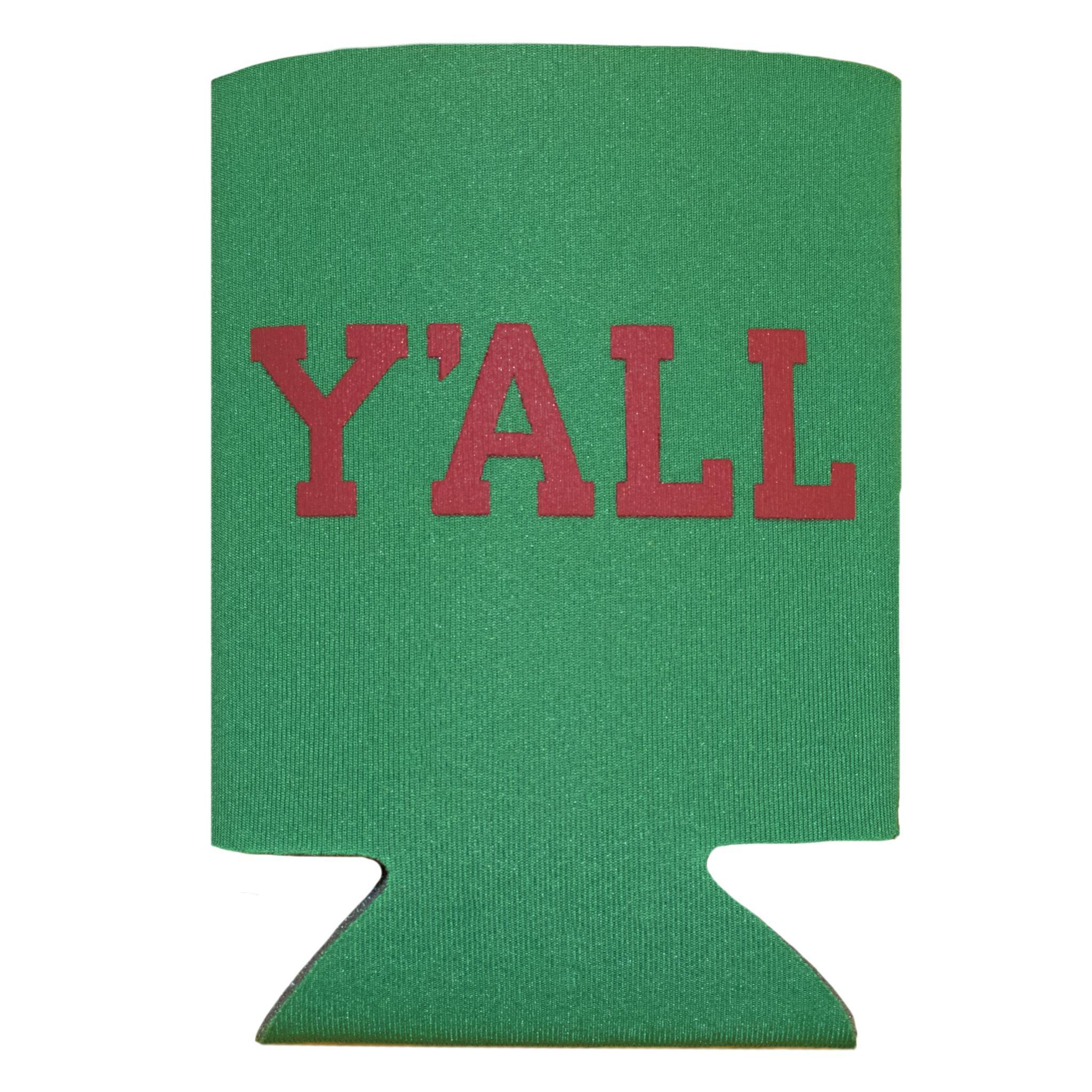 Y'ALL Christmas Koozie-Southern Socks
