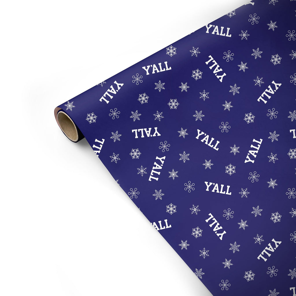 Y'ALL Wrapping Paper-Southern Socks