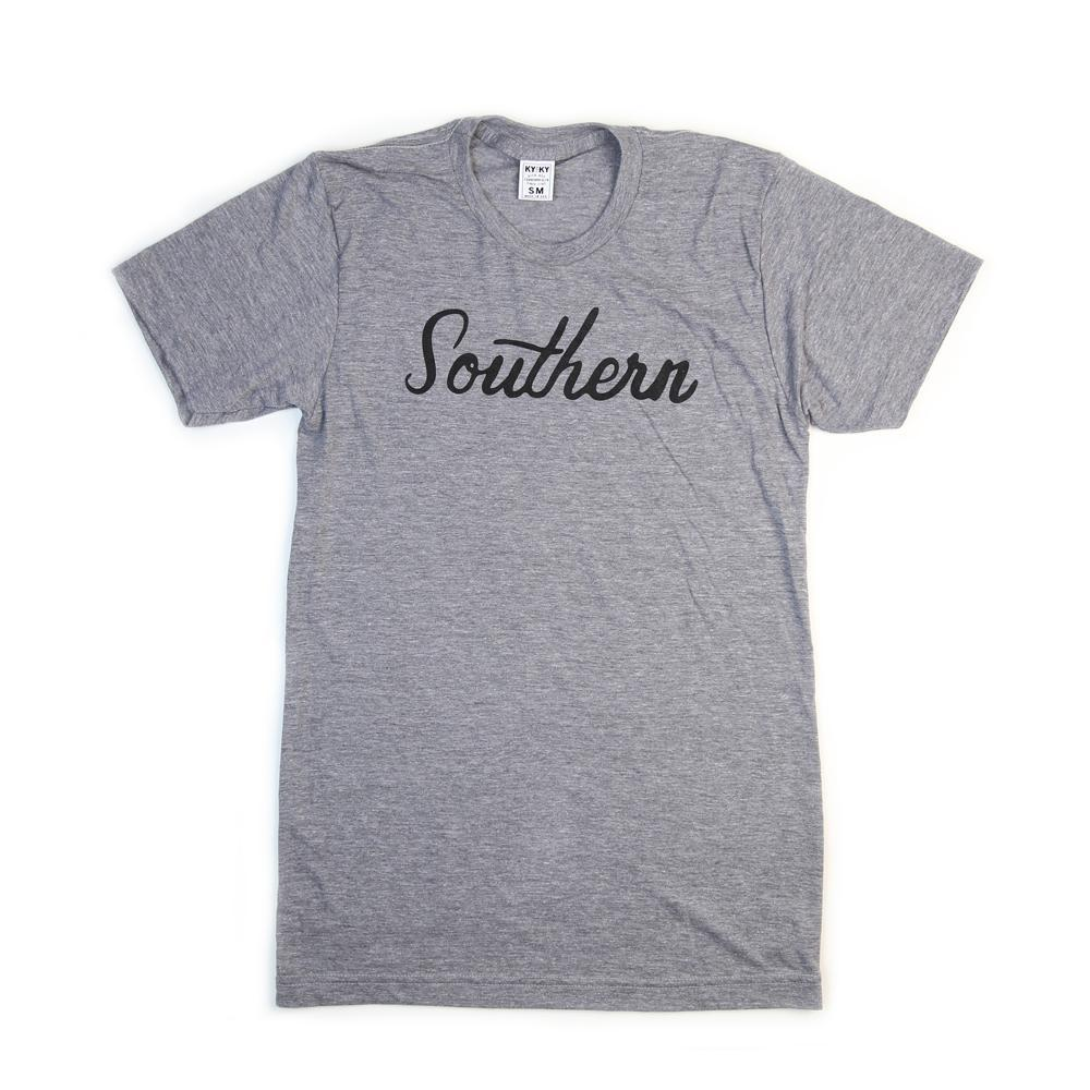 Southern T-Shirt (Grey)-Southern Socks
