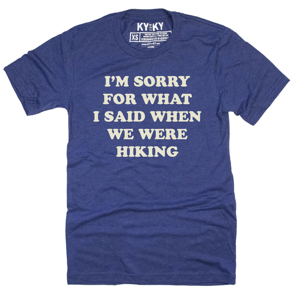 When We Were Hiking T-Shirt-T-Shirt-Southern Socks