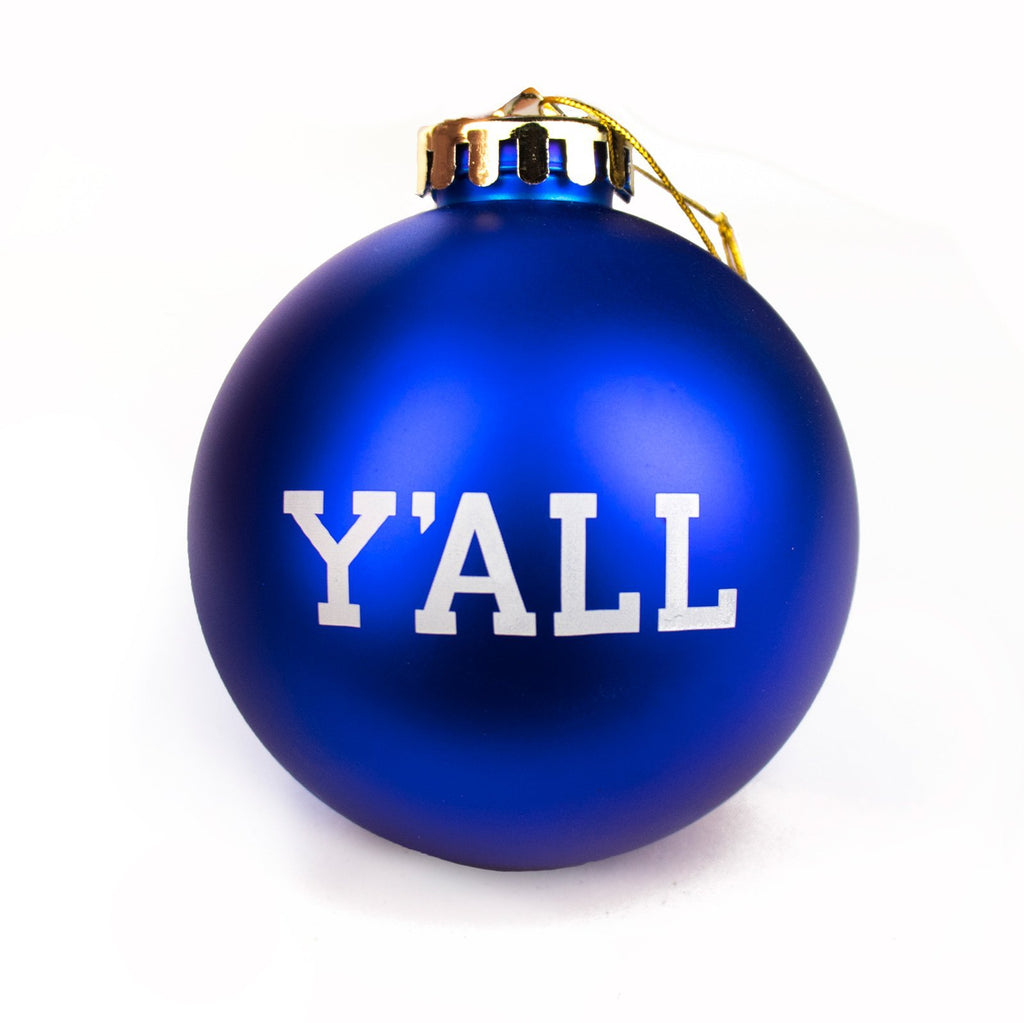 Y'ALL Christmas Ornaments
