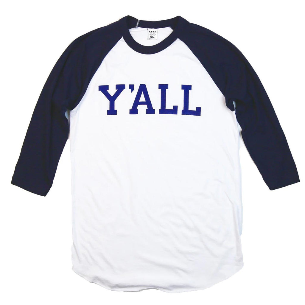 Y'ALL Baseball T-Baseball Tee-Southern Socks