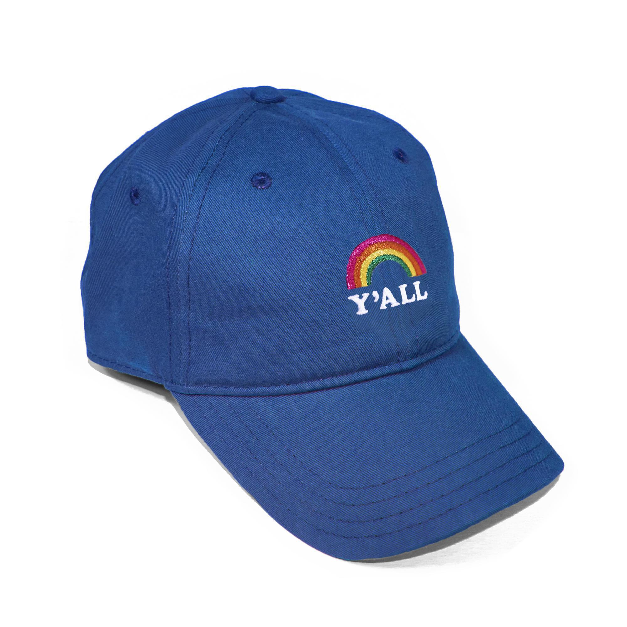 Y'all Rainbow Dad Hat-Hat-Southern Socks