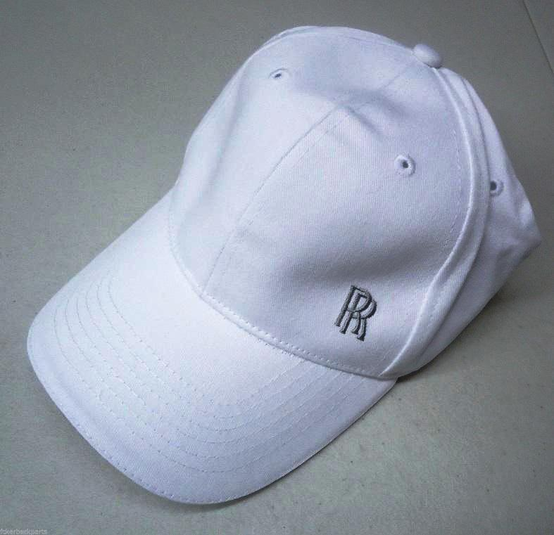 f087bee94aacf Rolls-Royce GENUINE White Baseball Cap – Rolls-Royce MTL Collection
