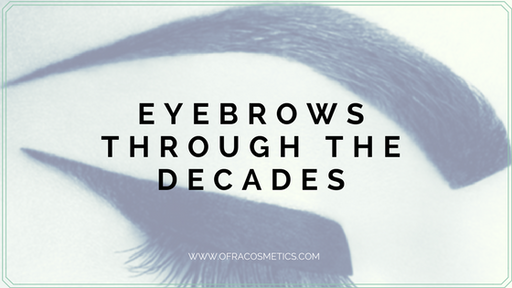Eyebrows Through the Decades