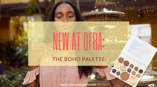 NEW AT OFRA: THE BOHO PALETTE