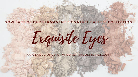 Signature Palette in Exquisite Eyes is Back and Here to Stay!