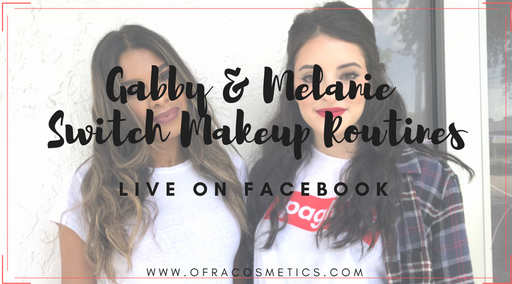 Gabby & Melanie Switch Makeup Routines!