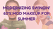 Modernizing Swingin' 60s Mod Makeup for Summer