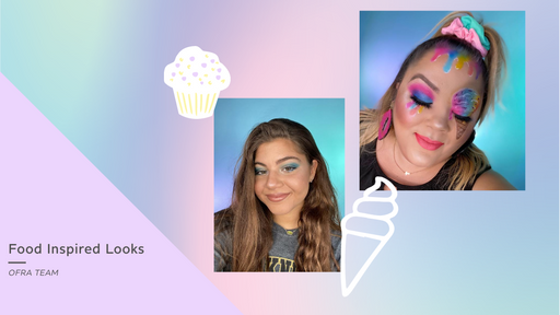 OFRA Team: We Tried Food Inspired Makeup Looks