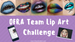 OFRA Team Lip Art Challenge